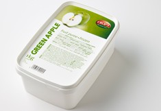 Green apple  puree photo