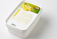 Banane  purée de photo