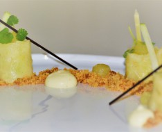 Apple pie dessert modern photo