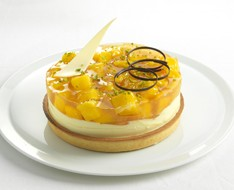 Mango cheese cake photo