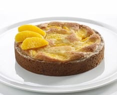 Orange almond cake photo