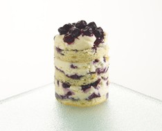 Blueberry tiramisu photo